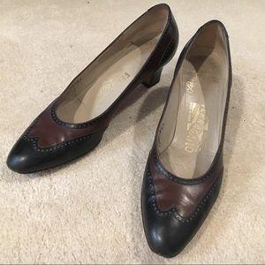 Vintage 70s Ferragamo heels